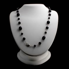 "Honora Sterling Silver Cultured Pearl Jet Black 36"" Necklace 036Q #Honora #Link"