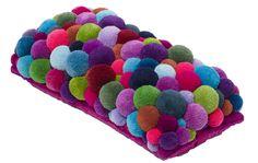 pompom cushion - Google Search