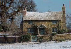 """Beautiful cottage in Shere, Surrey, England. Scene of the film, """"The Holiday."""""""