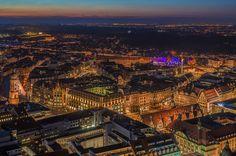 City centre of Leipzig, Germany
