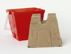 How To Make Homemade Kinetic Sand: One big advantage of kinetic sand over regular play sand is you can play with it indoors without making a sandy mess.