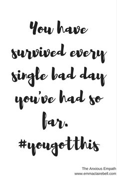 I know it's tough and you might feel like giving up, but remember that you've made it through bad times before, and you can do it again. #anxiety #mentalhealth #mentalhealth