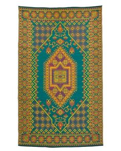 Mad Mats rug by Mariachi Imports; sweepdreams.com.