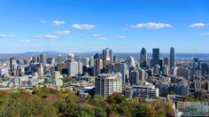 Blick vom Mont Royal - Check more at https://www.miles-around.de/nordamerika/kanada/quebec/montreal/,  #Geocaching #IndianSummer #Kanada #Olympiade #Québec #Reisebericht #USA