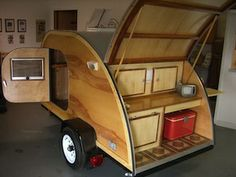Instructions to build my own teardrop camper!