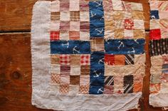 With Hook and Needle: patchwork
