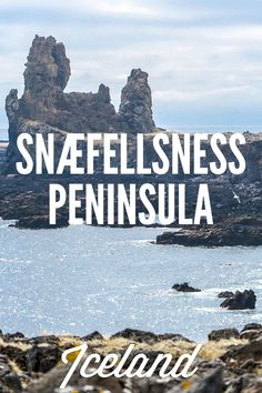 Snaefellsness Peninsula: A beautiful 1- or 2-day trip from Reykjavík. Even though a place of many natural wonders, it's still quite empty and omitted by tourists! Leave Golden Circle for some other time and explore Iceland a little more off the beaten path - a map and a downloadable included.