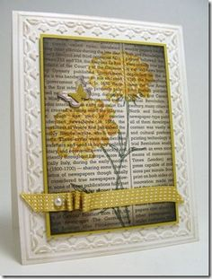 Love this LO! Stampin' UP! SU!