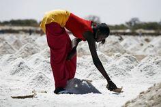 Senegal salt mines