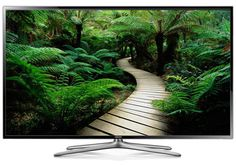"""The Samsung UN46F6400 is a 46"""" 1080p 3D LED-LCD HDTV with Wi-Fi®, a Clear Motion Rate of 480 and Micro Dimming for great picture quality. Read the full Samsung UN46F6400 review. #samsung #hdtv #samsunghdtv #samsungun46f6400"""