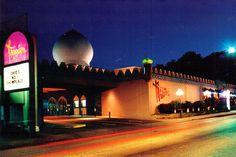 Tangier Restaurant, Akron, Ohio, 1975 postcard
