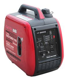 Another great find on #zulily! 2000-Watt Inverter Generator by Smarter Tools #zulilyfinds