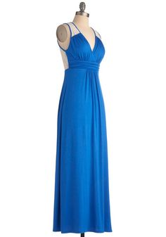 Brunch by the Falls Dress in Royal Blue, #ModCloth    Definitely going to buy this one when if comes back in stock!!!