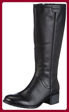 Jane Klain 266 312, Damen Langschaft Stiefel, Schwarz (black ld 006), 39 EU (6 Damen UK) - Stiefel für frauen (*Partner-Link)