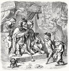 'Reynard the Fox' Illustrations by Wilhelm von Kaulbach Victorian Illustration, Fox Illustration, Illustrations, Dark Fairytale, Scrapbook Blog, Family Images, Gravure, Figure Painting, Printmaking