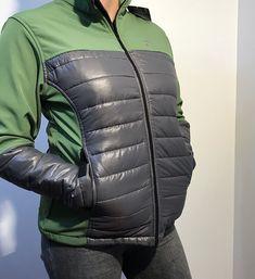 Chaqueta Rossignol Verde con Gris Talla M : Chaqueta marca Rossignol color verde con gris Calvin Klein, Winter Jackets, Blazer, Color, Fashion, Leather Jacket, Jackets, Gray Fabric, Purses
