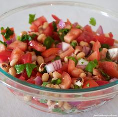 Black-eyed pea salsa Black Eyed Peas, Food For Thought, Salsa, Beans, Ethnic Recipes, Salsa Music, Beans Recipes