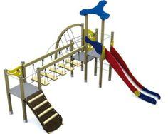 Rutsche Für Kletterbogen : Spielturm metallic iv mit rutsche und klettermöglichkeiten u2013 für
