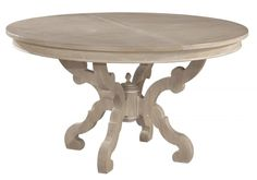 Clockway: Hekman Baroque Round Dining Table - CHK3340
