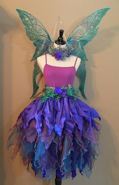Fairy dress (Halloween Disfraz Gorditas)