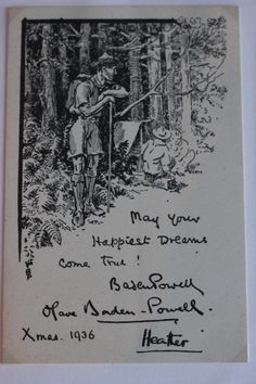 Picture by/from #Baden-Powell #WAGGGS #OurChalet #Archives #Scouting