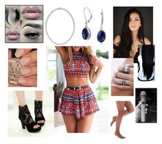 """""""10/18/15"""" by rawrimadinoxo on Polyvore featuring JY Shoes, Bling Jewelry and Sheer Caress"""