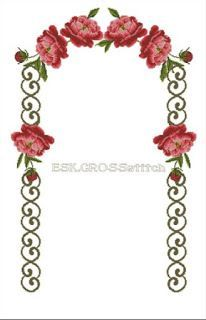 This Pin was discovered by esk Cross Stitch Flowers, Cross Stitch Patterns, Prayer Rug, Bargello, Crochet, Diy And Crafts, Quilts, Baby Born, Crossstitch