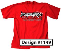 Race VBS Theme T-Shirt Design Rev it Up