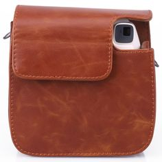CAIUL Instant Camera Case For Fujifilm Instax Mini 8(PU Leather): Amazon.com.mx: Electrónicos