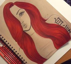 Image result for christina lorre (hair style girl drawing)