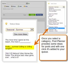 """3 Social Media Automation Tools for Marketers"""" """"Post Planner""""; """"Zapier""""; """"Divr.it""""; Details for each;"""