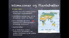 Klimazoner og Plantebælter del 1