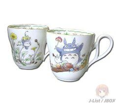 Beautiful Totoro mugs