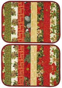 Christmas Gathering Quilt Digital Pattern - Make them in quilt-as-you-go fashion on a sturdy form Christmas Placemats, Christmas Sewing, Christmas Projects, Christmas Quilting, Patchwork Table Runner, Quilted Table Runners, Quilted Placemat Patterns, Placemat Ideas, Quilt Placemats