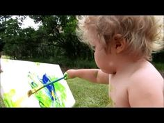 PAINTING for BABIES - by Mr. Otter Art Studio.   Painting is a great way for babies and children to start experiencing creativity, color, texture, and art. It's also a great way for parents to learn to let go of control a little. Join Mr. Otter Art Studio in this free painting tutorial.   SUBSCRIBE, and don't forget to find Mr. Otter Art Studio on FACEBOOK, here: https://www.facebook.com/otterstudio