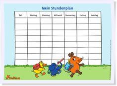Mag Euer Kind die #Maus? Für die #Schule könnt Ihr Euch den #Stundenplan auf…