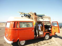 Camping + surfing + California coast = classic road trip awesomeness