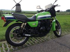 My 1982 KZ1000R Eddie Lawson Replica picture taken in scenery of Holland