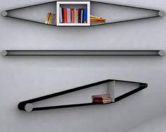 decovry.com - Arianna Vivenzio | Bendable Bookcases