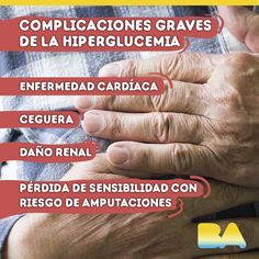 Complicaciones graves de la hiperglucemia #diabetes