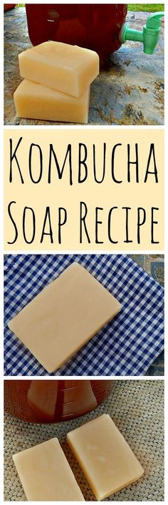 Kombucha Soap: Natural Face Bar Kombucha is also great for the skin! Get the recipe for this kombucha soap natural face bar! Kombucha Soap: Natural Face Bar Kombucha is also great for the skin! Get the recipe for this kombucha soap natural face bar! Soap Making Recipes, Homemade Soap Recipes, Homemade Beauty Products, Facial Products, Lush Products, Natural Products, Natural Face, Handmade Soaps, Diy Soaps