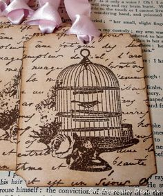 Have got to get a cute birdcage stamp, eh @AnnaKate Jackson?