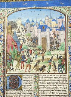 Chronique universelle, MS M.224 II, fol. 117v - Images from Medieval and Renaissance Manuscripts - The Morgan Library & Museum