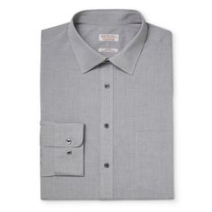 Men's Big Button Down Dress Shirt Gray 2XB - Merona