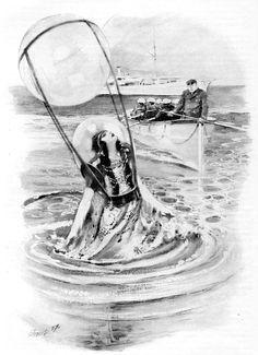 Awesome illustration about Atlantis.