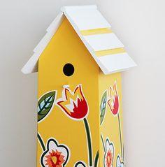 Vogelhaus zur Hochzeit ♥ Hochzeitsspiel & Geldgeschenk