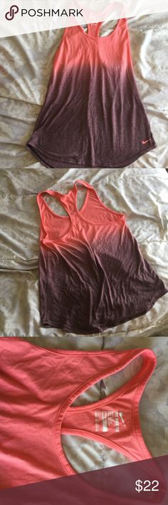 Nike dri-fit workout tank szM Nike dri-fit workout tank szM like new Nike Tops Tank Tops