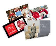 Joulukortti omasta kuvasta. Näitä aion teettää tänä jouluna mummille ja ystäville :)