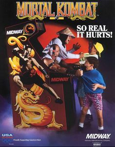 Legend of Ace: Favorite Arcade Game Crazy Retro Arcade Flyers - Mortal Kombat, awww i remember these days! Vintage Videos, Vintage Video Games, Classic Video Games, Retro Videos, Retro Video Games, Video Game Art, Video Game News, Vintage Games, Johnny Cage