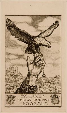 G. B. Stella, American (19th-20th centuries), Ex Libris Bella Goldmut,   Etching, Harvard Art Museums/Fogg Museum, Gift of Charles Bain Hoyt.